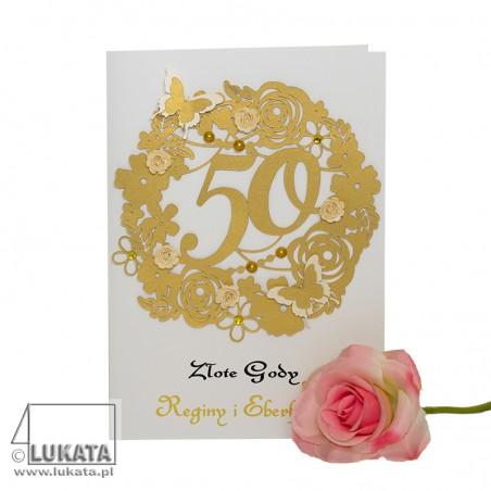 Kartka na 50 rocznicę ślubu 01