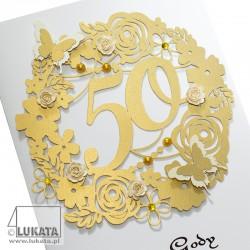 Kartka na 50 rocznicę ślubu 02