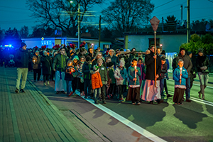 Fotografia reportażowa Droga Krzyżowa ulicami miasta