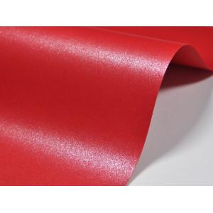 Papier do zaproszeń kolor czerwony