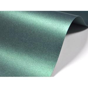 Papier do zaproszeń zielony ciemny