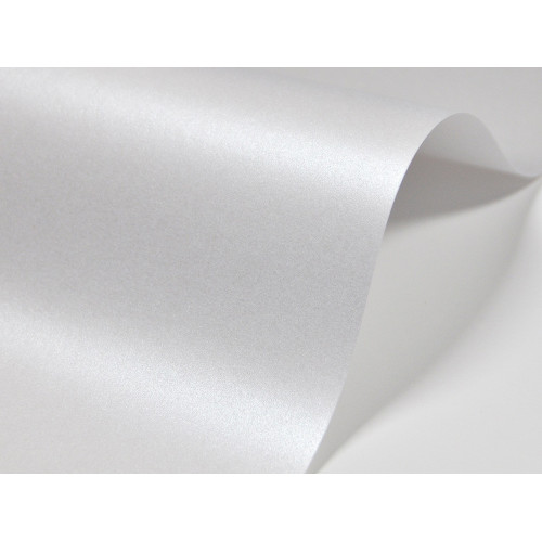 Papier do zaproszeń kolor biały