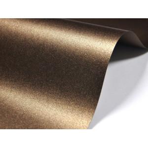 Papier do zaproszeń kolor brązowy