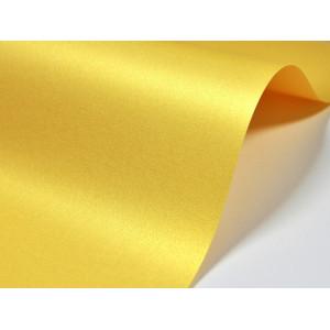 Papier do zaproszeń kolor złocisto-żółty