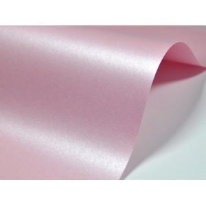 Papier do zaproszeń kolor różowy