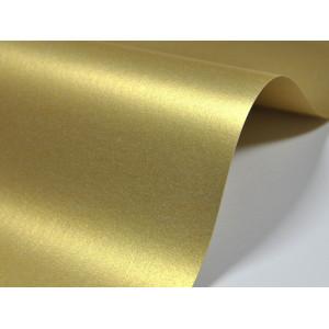 Papier do zaproszeń kolor złoty