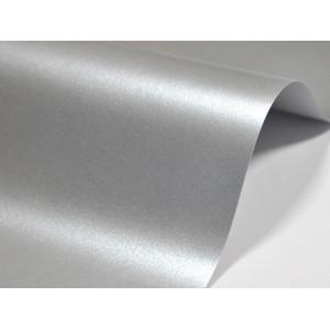 Papier do zaproszeń kolor srebrny