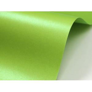 Papier do zaproszeń kolor zielony groszek