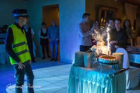 Wjazd tortu na 18 stce