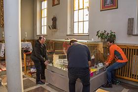 Renowacja makiety w Starych Panewnikach