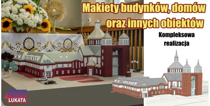 Makieta Kościoła i Klasztoru